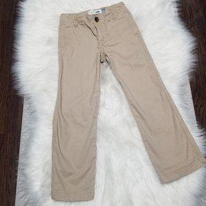 2/15$🔥Old Navy Straight Leg Flat Khaki Chinos 5T
